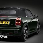 New Mini John Cooper Works Convertible right rear quarter view 2016_1