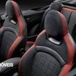 New Mini John Cooper Works Convertible seats view 2016