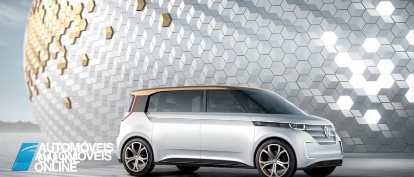 New volkswagen budd-e concept right front profile view_1