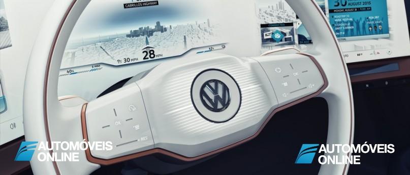New volkswagen budd-e concept wheel view
