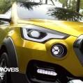 Datsun Go-Cross Concept. Design e robustez de mãos dadas