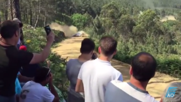 Despiste de Hayden Paddon em Ponte de Lima