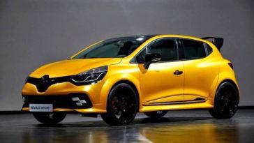 Renault Clio RS primeiras imagens