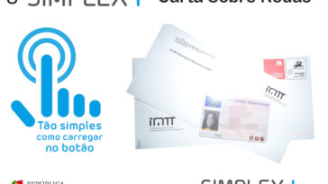 Renovar a Carta de Conducao mais %22simplex%22. Carta sobre Rodas
