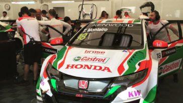 WTCC 45 Circuito Internacional de Vila Real Tiago Monteiro em 8 nos treinos livres
