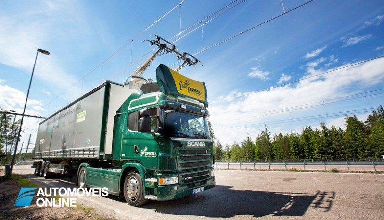 Primeira via rapida electrica do mundo fica na Suecia