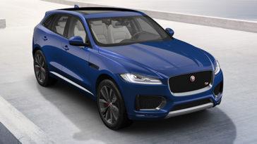 F-Pace o SUV da Jaguar cresceu