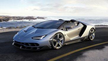 Lamborghini Centenario Roadster. So custa dois milhoes