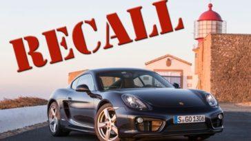 Recall Porsche. Avaria no pedal de travao leva as oficina 1236 veiculos