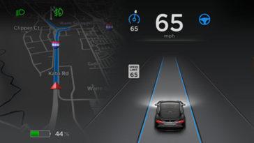 Tesla. Piloto automatico salva vida
