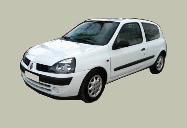 Renault Clio II 1.5 dCi Roubado