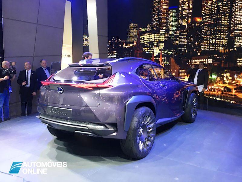 Salão Automóvel de Paris Lexus UX Concept
