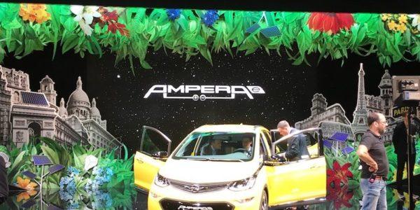Salão Automóvel de Paris Opel Ampera