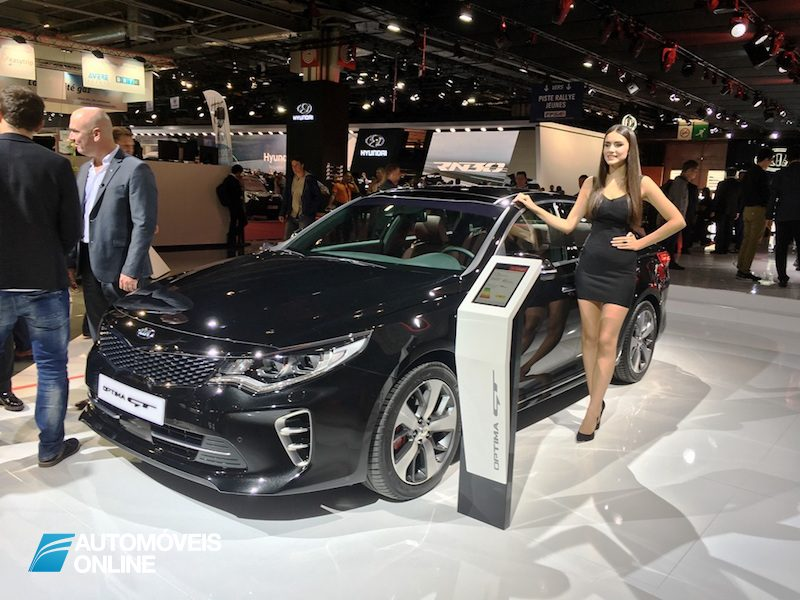 Salão Automóvel de Paris Kia