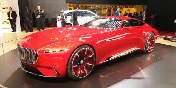 Salão Automóvel de Paris Mercedes