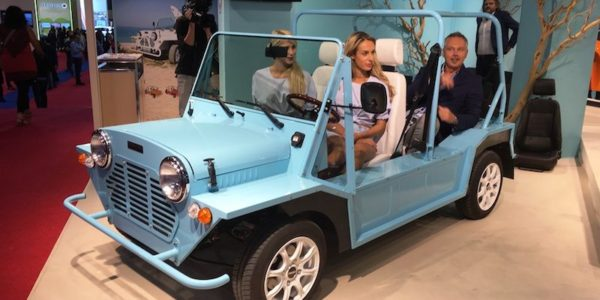 Salão Automóvel de Paris Mini Moke