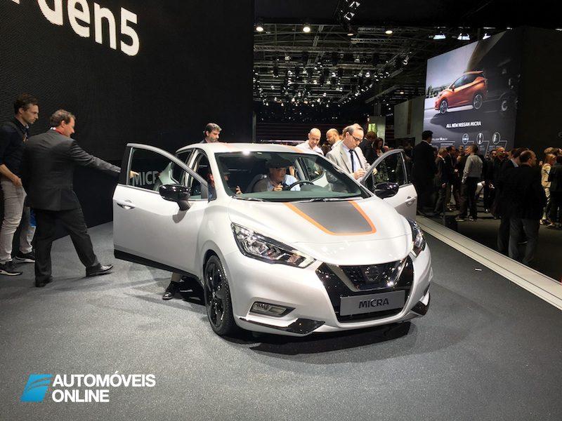 Salão Automóvel de Paris  Nissan
