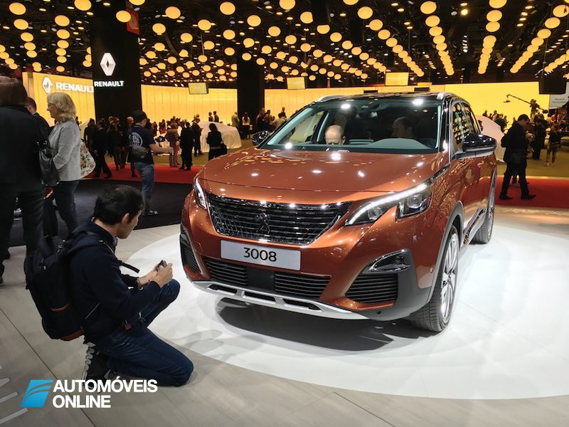 Salão Automóvel de Paris Peugeot