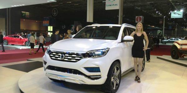 Salão Automóvel de Paris Ssangyoung