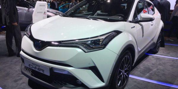 Salão Automóvel de Paris Toyota C-HR
