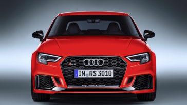 Audi RS3 quattro. Um Sedan com 400cv de potência
