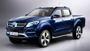 Mercedes-Benz prepara Pick-Up