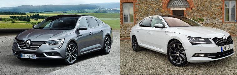 Renault Talisman vs Skoda Superb