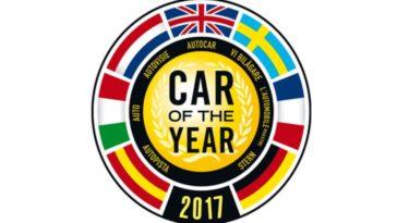 Carro do Ano 2017. Lista dos candidatos