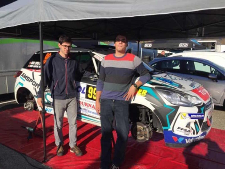 Hugo Lopes no Rallye du Var