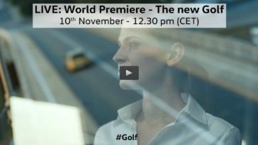Novo Volkswagen Golf chega amanhã