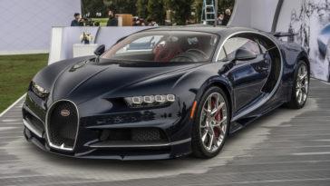 Bugatti Chiron. Metade já estão vendidos