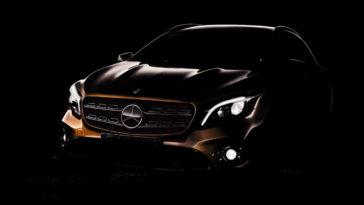 Mercedes GLA 2017. Primeira imagem
