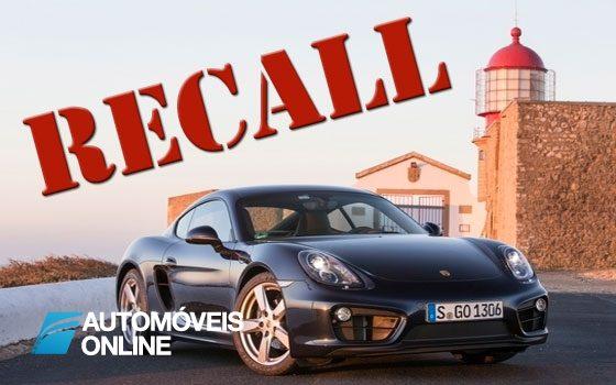 Recall da Porsche. Causa e o risco de incêndio
