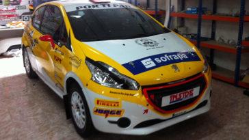 Dupla Daniel Nunes e Rui Raimundo correm pela Inside Motor no Rali Serras de Fafe