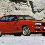 AUDI QUATTRO (1980) foi o primeiro carro de competição com tração total