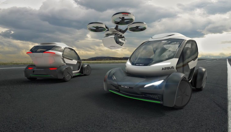 Airbus Pop.Up. A visão do carro voador já é uma realidade