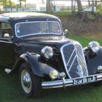CITROEN TRACTION AVANT (1934) foi o primeiro a ser fabricado com chassis monocasco e tração dianteira