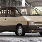 RENAULT ESPACE (1984) foi o primeiro monovolume