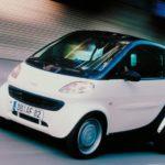 SMART (1998) foi o primeiro mini-carro para a cidade