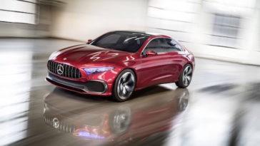 Será que o novo Mercedes Classe A vai ser assim?