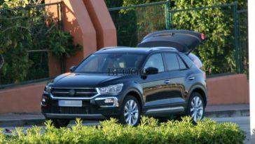 T-Roc, o SUV a ser na Autoeuropa foi apanhado sem camuflagem