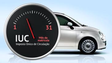 Isenção do pagamento do IUC para carros com selo inferior a 10€