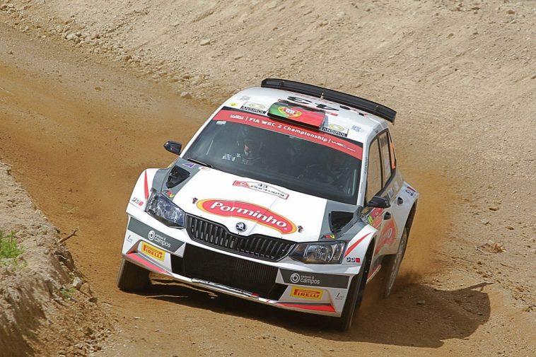 Miguel Campos inscrito no WRC2 no Rali de Portugal