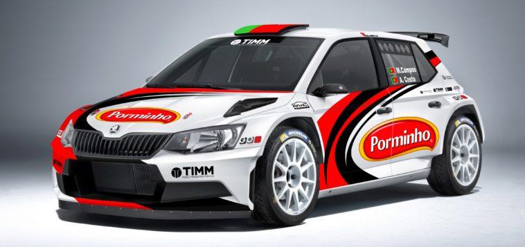 Miguel Campos no Vodafone Rally de Portugal