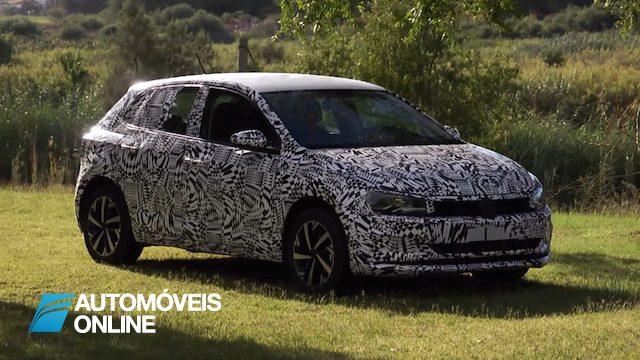 Vídeo do novo VW Polo camuflado