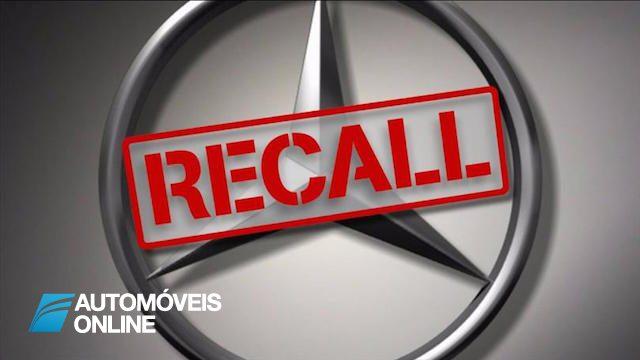 Recall Mercedes chama três milhões de veículos às oficinas