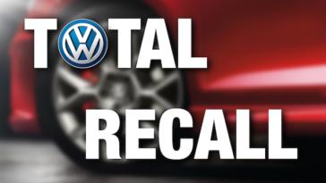 Recall Volkswagen chama 5 milhões de carros por airbags defeituosos