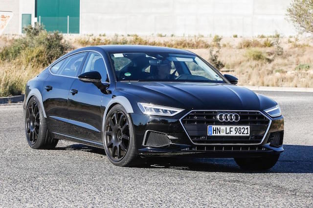 Audi RS7 veja os primeiros spyshots