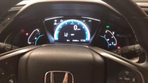 Painel de bordo Honda Civic