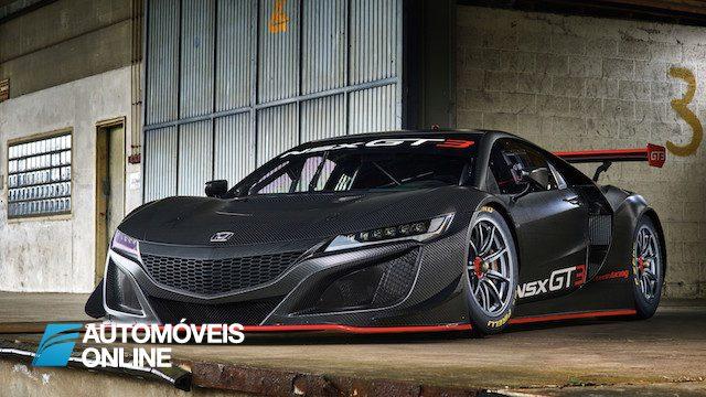 Honda NSX GT3 esta pronto para a competicao
